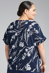 Plus Size - Sara Ruffle Sleeve Shell Top