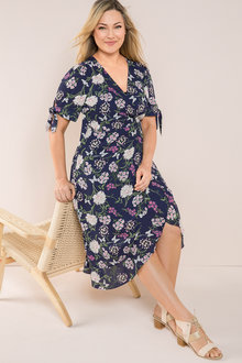 Plus Size - Sara Wrap Dress