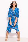 Plus Size - Sara Crossover Dress