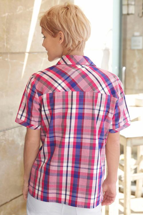 Capture European Check Shirt