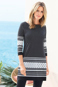 Capture Geo Print Tunic