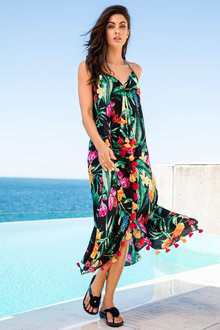Capture Swimwear Longline Cover Up