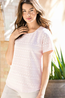 Capture Lace Shell Top