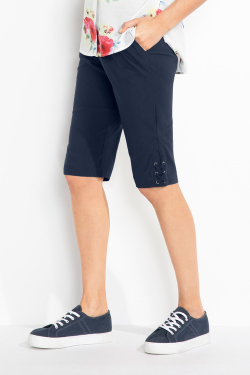 Capture Bengaline Tie Detail Shorts