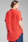 Plus Size - Sara Short Sleeve Placket Top