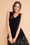 Plus Size - Sara Textured Knit Tank