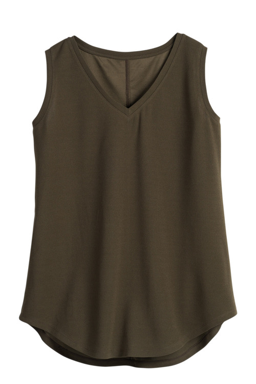 Plus Size - Sara Textured Knit Tank