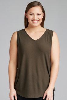 Sara Textured Knit Tank - 205817