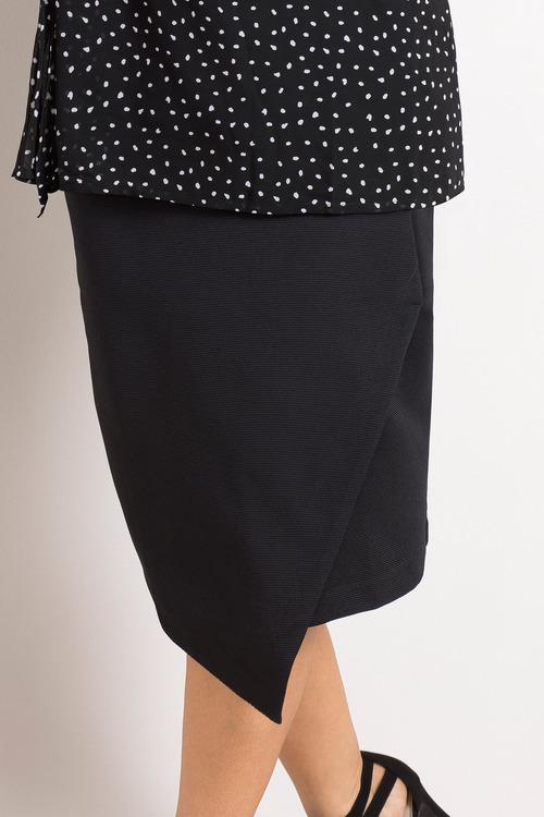 Plus Size - Sara Asymmetric Skirt