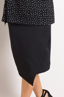 Plus Size - Sara Asymmetric Skirt