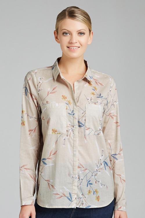 Capture Cotton Voile Shirt