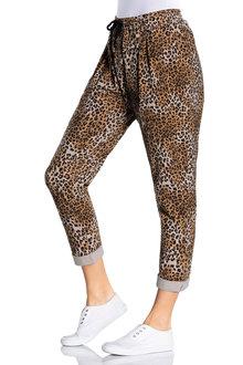 Capture Stretch Cotton Casual Pants - 205853