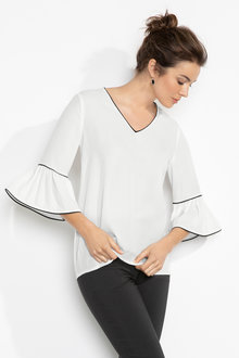 Capture Double Sleeve Top