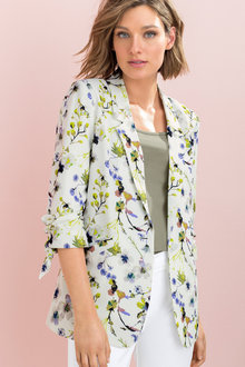 Capture Printed Blazer - 205882