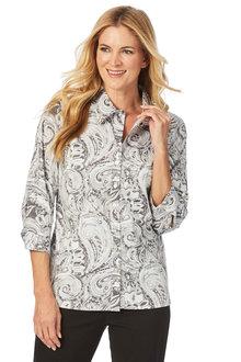 W.Lane Paisley Printed Shirt