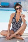 Quayside Halter Neck Swimsuit