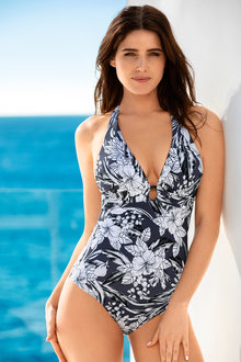Quayside Halter Neck Swimsuit