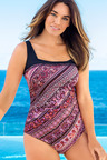 Quayside Woman Square Neck Swimsuit