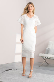 Grace Hill Broderie Dress - 205967