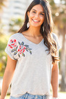 Urban Embroidered Top