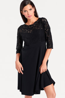 Heine Lace Fit & Flare Dress
