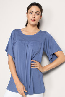 Capture Ruched Detail Top