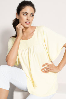 Capture Ruched Detail Top - 206029