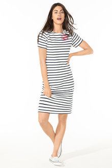 Capture Cotton Tee Dress