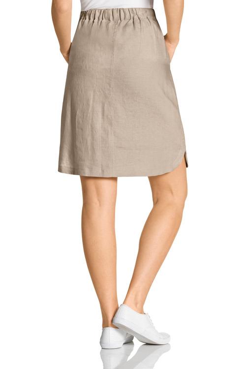 Capture Linen Skirt