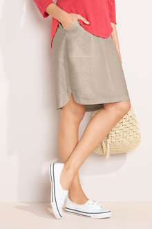 Capture Linen Skirt