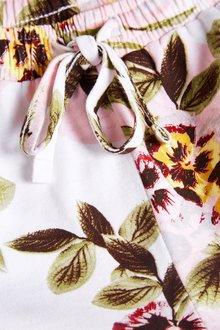 Next Pink Floral Ruffle Pyjama Set