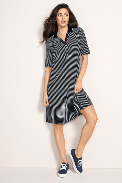 Capture Polo Swing Dress