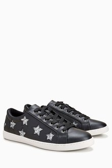Next Star Lace-Up Trainers