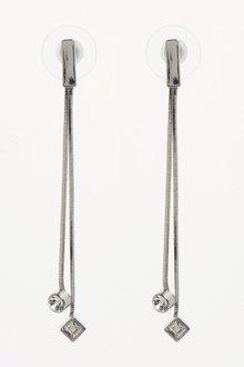 Next Jewelled Tassel Drop Earrings