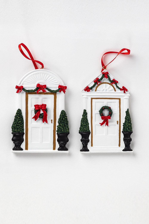 Christmas Front Door Ornaments Set of Two Online | Shop EziBuy
