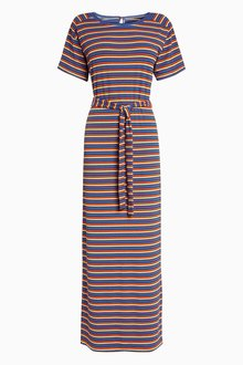 Next Stripe Maxi Dress - Tall