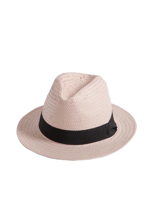 Blush Panama Hat