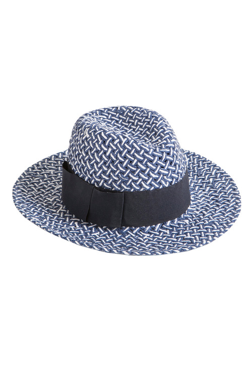 Navy Panama Hat