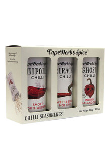 Cape Herb&Spice Chilli Seasonings 3 Pack