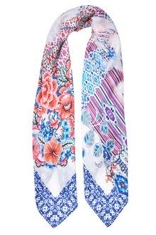 W.Lane Floral Print Scarf