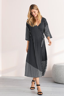 Grace Hill Wrap Dress - 206320