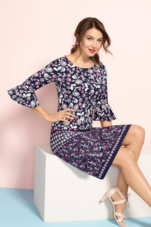 Capture Bell Sleeve Dress