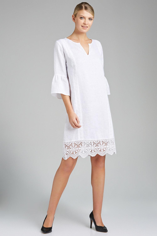 732f454ed1 Grace Hill Linen & Lace Dress Online | Shop EziBuy