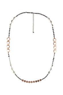 Amber Rose Mixed Bag Rope Necklace