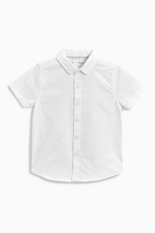 Next Short Sleeve Oxford Shirt (3mths-6yrs)