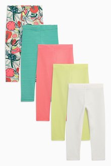Next Bright Leggings Five Pack (3mths-6yrs)