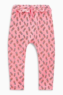 Next Floral Print Trousers (3mths-6yrs)