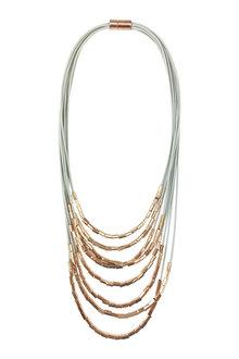 Amber Rose Metallica Short Necklace