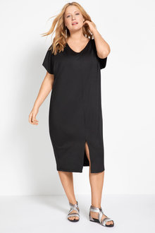 Plus Size - Sara Textured Knit Dress