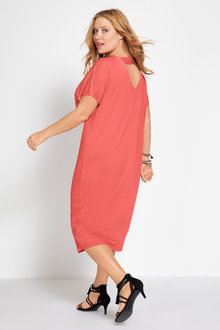 Plus Size - Sara Textured Knit Dress - 206602